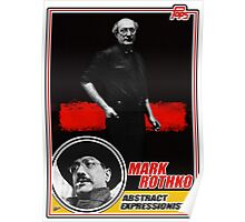Mark Rothko Trading Card Poster