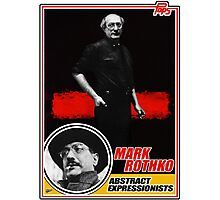 Mark Rothko Trading Card Photographic Print