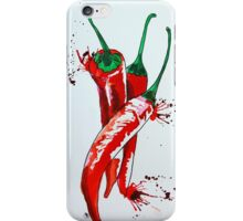 Chilli vertical iPhone Case/Skin