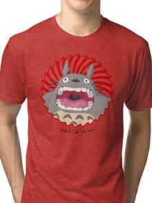 Totoro! Totoro! Totoro! Tri-blend T-Shirt