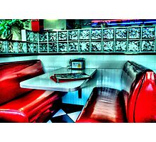 Route 66 Diner Photographic Print