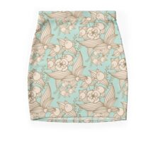 Vector other flowers seamless decorative pattern Mini Skirt