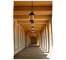 Arches and Lanterns Poster