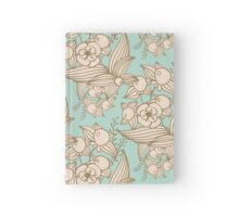 Vector other flowers seamless decorative pattern Hardcover Journal