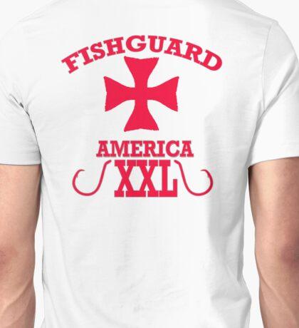 fish guard america, t-shirt wiht a life guard cross Unisex T-Shirt
