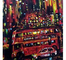 London city bus Photographic Print