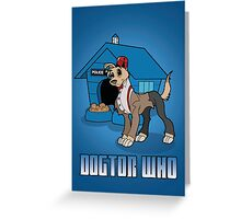 Dogtor Who 11 Greeting Card