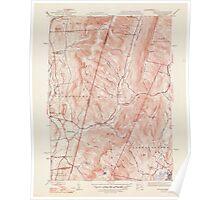 Massachusetts  USGS Historical Topo Map MA Hancock 351774 1948 31680 Poster