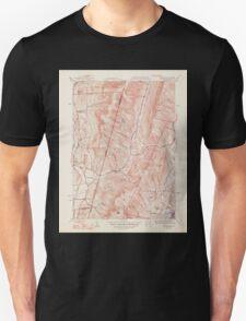 Massachusetts  USGS Historical Topo Map MA Hancock 351774 1948 31680 T-Shirt