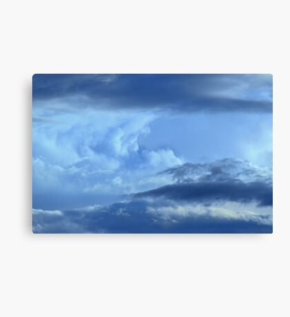 Tidal Wave ~ of clouds Canvas Print