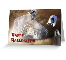 Happy Halloween Card III Greeting Card