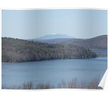 Quabbin Reservoir in March Poster