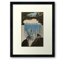 Waterfall Dialogue Framed Print