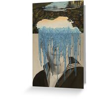 Waterfall Dialogue Greeting Card