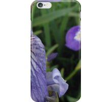 Blue Shoreline Iris iPhone Case/Skin