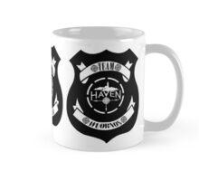 Haven Team Wuornos Police Badge Black Logo 2 Mug