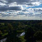 Cloudy Landscape by Vanwraithen