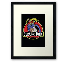 Jurassic Duo Framed Print