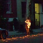 Changing light on my street, NYC by RonnieGinnever