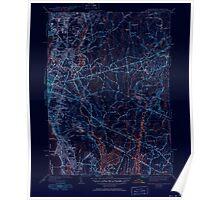 Massachusetts  USGS Historical Topo Map MA East Providence 351656 1941 31680 Inverted Poster