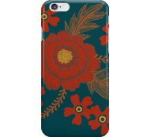 Red Peony iPhone Case/Skin