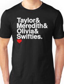 Swift family (black) Unisex T-Shirt