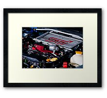 Subaru MY-02 STI Framed Print