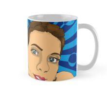 Lady with Blue Mug