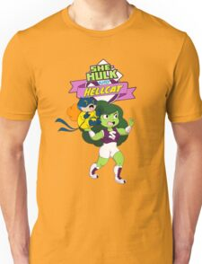 She-Hulk and Hellcat Unisex T-Shirt