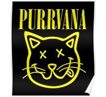 Purrvana Poster