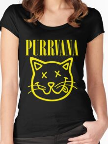 Purrvana Women's Fitted Scoop T-Shirt