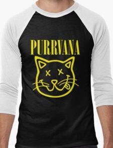 Purrvana Men's Baseball ¾ T-Shirt