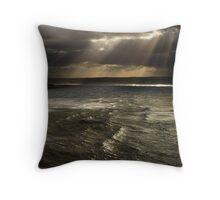 Winter Seas Throw Pillow