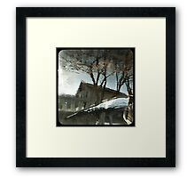 TTV- up is down Framed Print