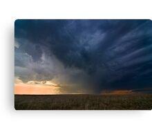 Storm over Nebraska Canvas Print