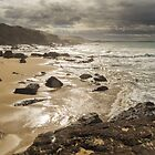 Winter At Spiky Beach by Craig Russell-Green