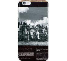 Warsaw Ruins of the Wall iPhone Case/Skin