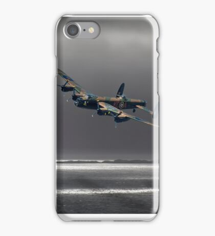 Lancaster over The Sound of Sleet iPhone Case/Skin