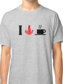 I HEART COFFEE Classic T-Shirt