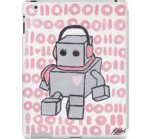 I Love You Binary Robot iPad Case/Skin