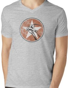 Fury of the Geeks Mens V-Neck T-Shirt