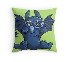 Toothless Chibi Throw Pillow