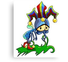 Jester The Fly Canvas Print