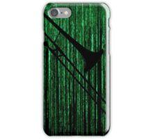 Matrix Musician - Trombonist iPhone Case/Skin
