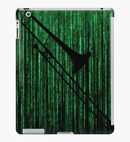 Matrix Musician - Trombonist iPad Case/Skin