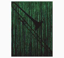 Matrix Musician - Trombonist Kids Tee