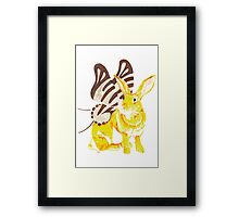 Elf Bunnyfly Framed Print
