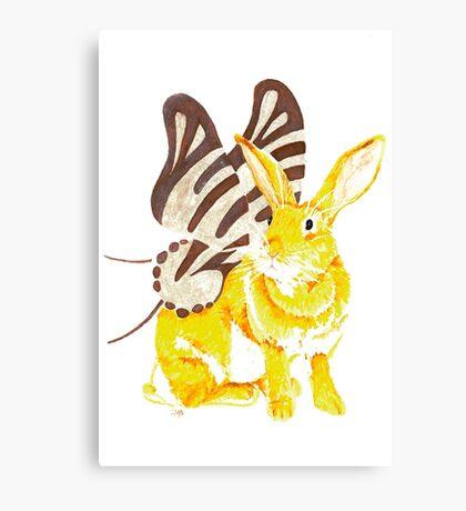 Elf Bunnyfly Canvas Print
