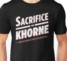 Sacrifice for Khorne - Damaged Unisex T-Shirt