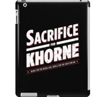 Sacrifice for Khorne - Damaged iPad Case/Skin